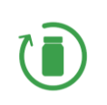 Icon PROGETTARE PRODOTTI ADATTI AL RICICLAGGIO